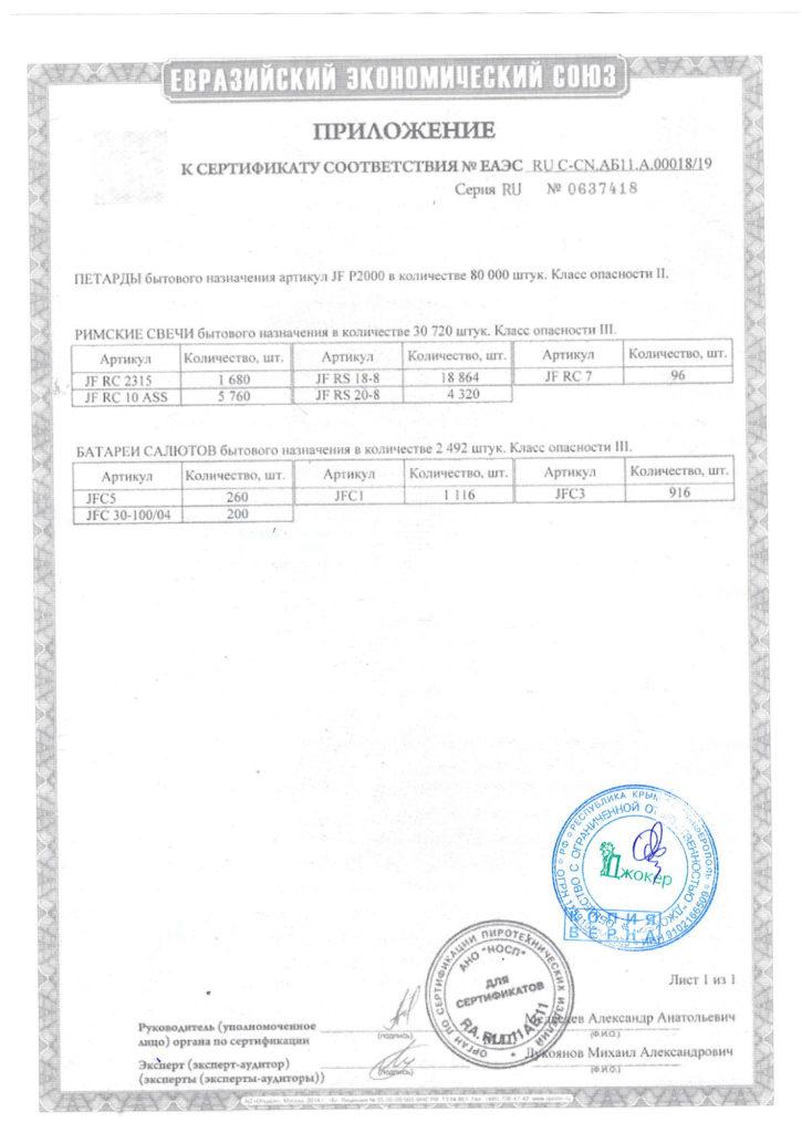 сертификат 00018-19-2